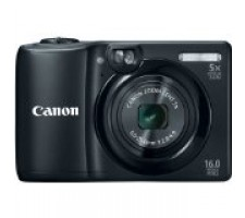 Canon PowerShot A1300 16.0 MP Digital Camera with 5x Digital Image Stabilized Zoom 28mm Wide-Angle Lens and 720p HD Video Recording (Black)