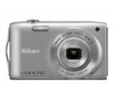 Nikon COOLPIX S3300 16 MP Digital Camera with 6x Zoom NIKKOR Glass Lens and 2.7-inch LCD (Silver)