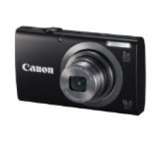 Canon PowerShot A2300 IS 16.0 MP Digital Camera with 5x Digital Image Stabilized Zoom 28mm Wide-Angle Lens with 720p HD Video Recording (Black)