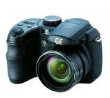 GE Power Pro X500-BK 16 MP with 15 x Optical Zoom Digital Camera, Black