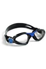 Aqua Sphere Kayenne Goggle, Black Blue - Clear Lens
