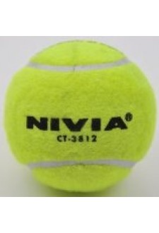 Nivia Cricket Heavy Tennis Balls One Dozen Value Pack (Yellow)