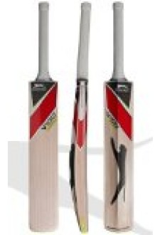 Slazenger V100 All Star Kashmir Willow Cricket Bat, Short Handle, Full Adult Size Bat